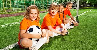 Egészségesebb lesz a gyerek a szervezett sporttól