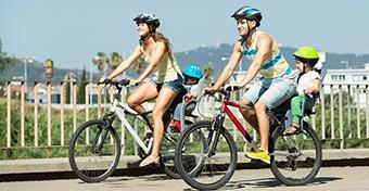 Mikortól mehetek biciklizni a kicsivel?