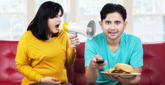 A diétázás ingerültté és haragossá tehet