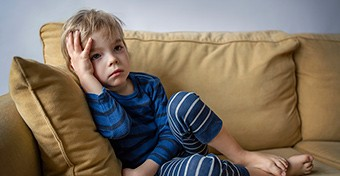 5 jel, hogy a gyerek nem tud megbirkózni a házi karanténnal
