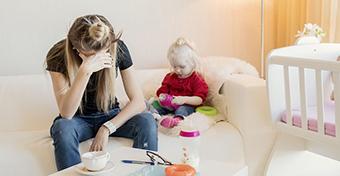 Az anyai kiégés létező dolog