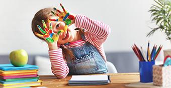 Tippek a színek tanításához