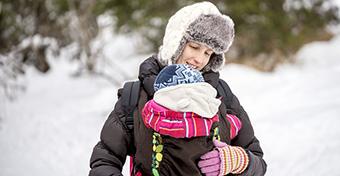 A baba első tele: így készülj a hideg időre