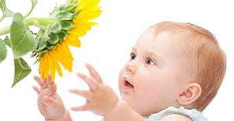 Így fejlődnek a babák érzékszervei