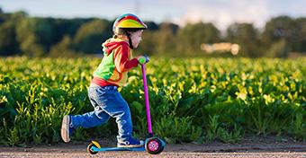 Három órányi mozgásra van szüksége a kisgyerekeknek naponta
