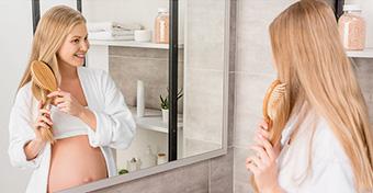 Veszélyes a hajfestés és a körömlakkozás terhesség alatt?