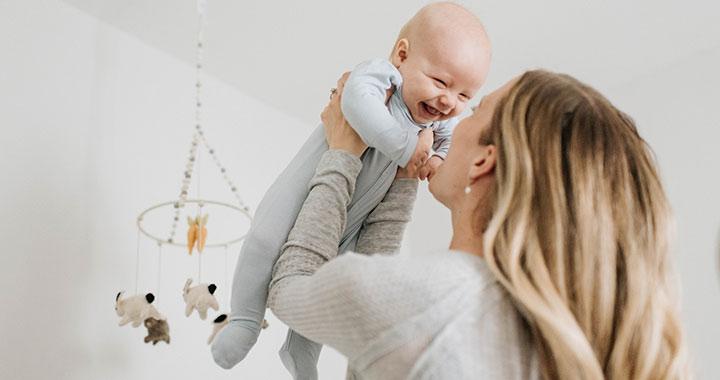 Így fejlődnek a baba érzékszervei