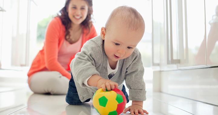 A nagymotoros mozgás fejlődése játékokkal is segíthető