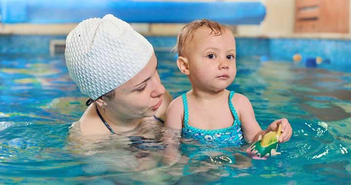 Hidroterápiás rehabilitációs gimnasztika - Vízi terápia a fejlődésért