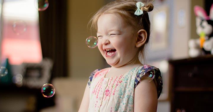 Lufis, buborékos játéktippek 3 éves korig