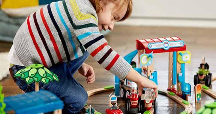 A városos építőszettel a kicsik is alkothatnak