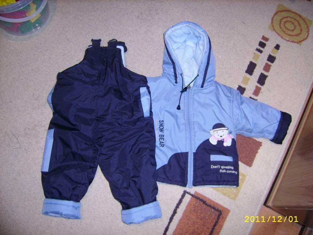 Kisfiú-kislány egybeoverál és 2 részes (overál+kabát)   Véglegesen ... e5079164db