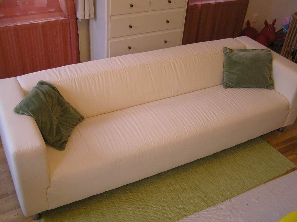 Sürgősen eladó ÚJ 4 személyes hosszú IKEA KLIPPAN kanapé szuper ...
