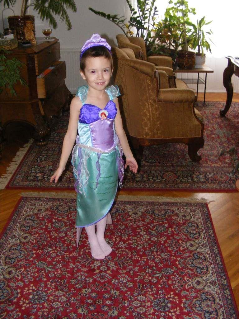 2e491dbdc4 6 éves kislánynak KIS HABLEÁNY jelmez eladó vagy elcserélhető ...