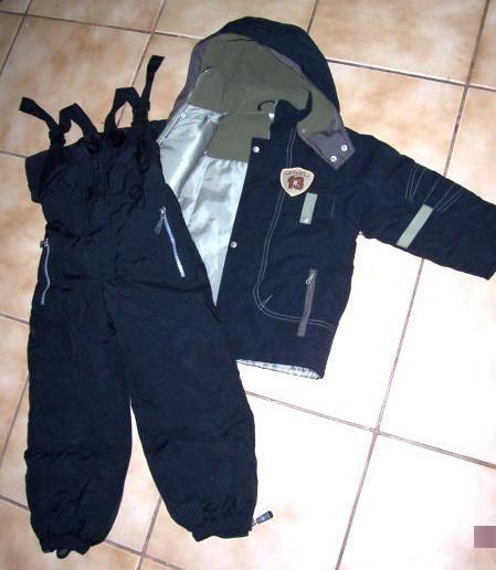 104 110 es kabátok és egy C&A RODEO sínadrág kisfiúnak