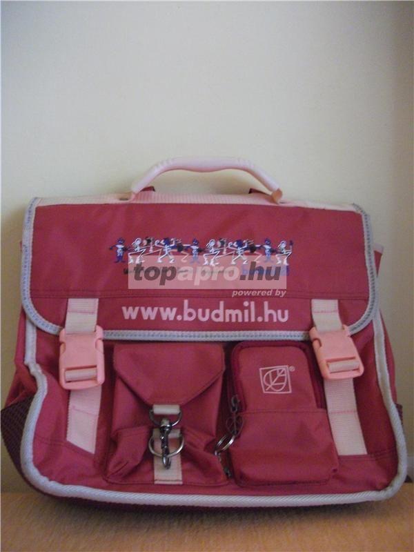 75f248fa3244 3db használt Budmil iskola táska, hátizsák eladó !!!! / Adok-veszek ...