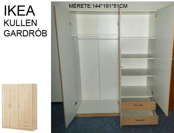 Ikea KULLEN gardrób szekrény, ruhás szekrény ELADÓ / Véglegesen ...