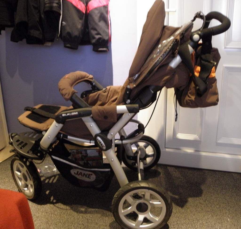 JANE Slalom Pro babakocsi szett eladó barna-narancs színben ... 89b795b264