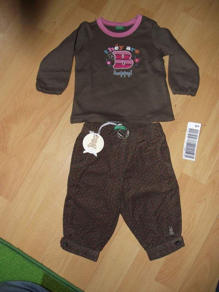 ff95e1840f Benetton ruha vásár új cimkés 3-6 hó 62 -68 kislány ruhák ...
