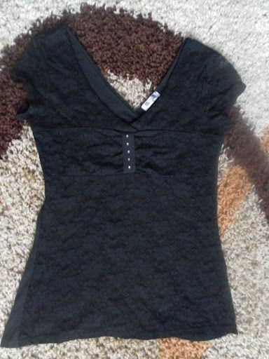 1d1d084a0c Csodaszép,szinte új L-es fekete csipkés felső. Hossz:60cm mell:40cm(enged  még)