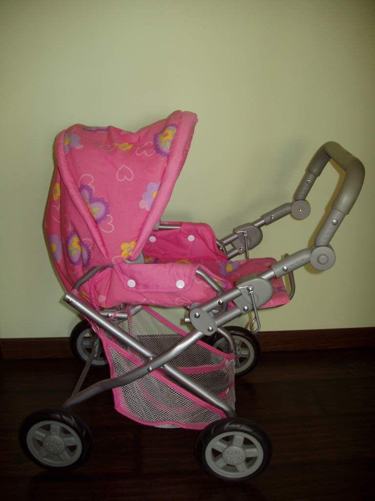 KNORR márkájú rózsaszín játék babakocsi      gyermekruha   Fórum b99d537772