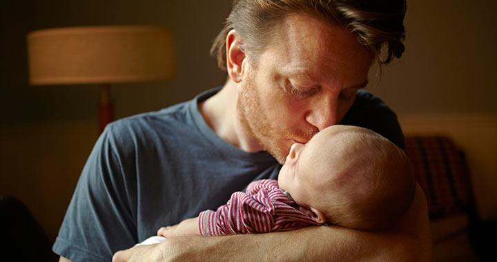 Mi történik a férfi agyával, amikor apa lesz?