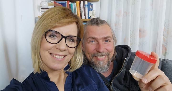Férfi meddőség kampányt indít Pataki Zita - Hírességek is megszólalnak