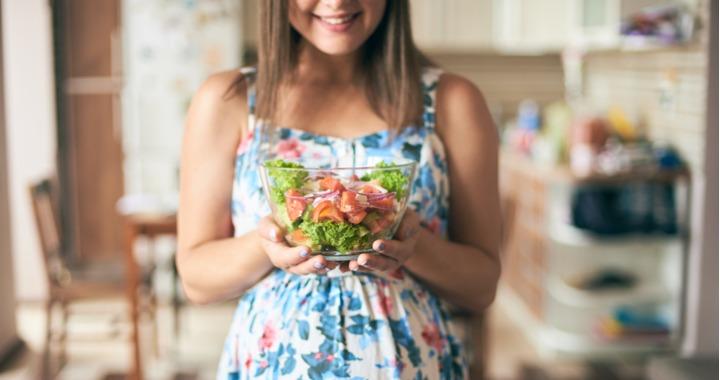 Így kellene étkezni az első trimeszterben