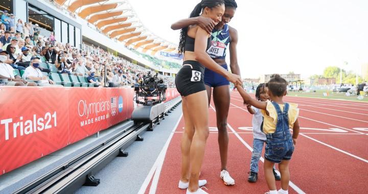 Imádják a két olimpikon-anyuka fotóját