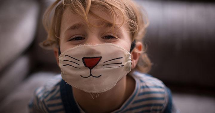 Kétéves kor alatt ne adj maszkot a gyerekre
