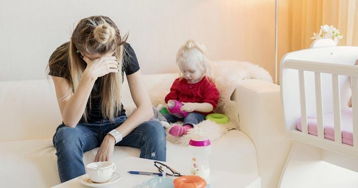 Az anyai kiégés létező dolog - ismerte el a WHO
