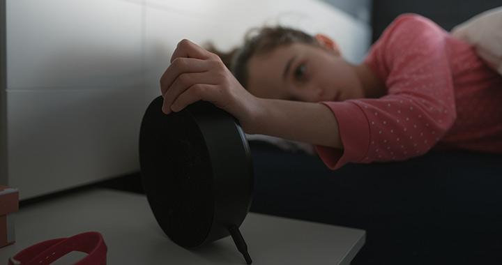 Az érzelemkifejezést is befolyásolja, ha rosszul alszik a gyerek