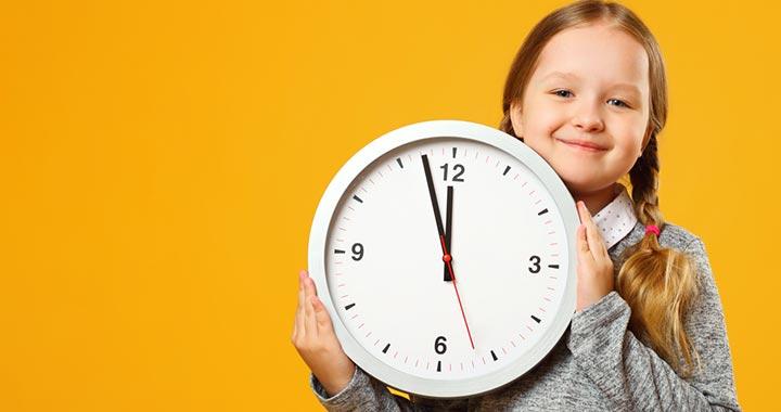 Hogyan érzékelik a gyerekek az időt?