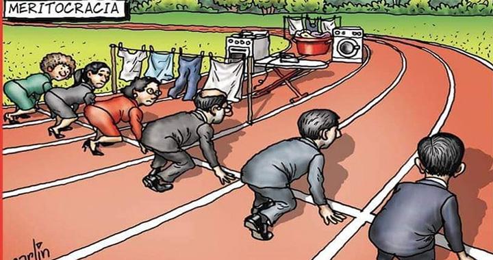 Elgondolkodtató karikatúra terjed a nemek közötti egyenlőtlenségről