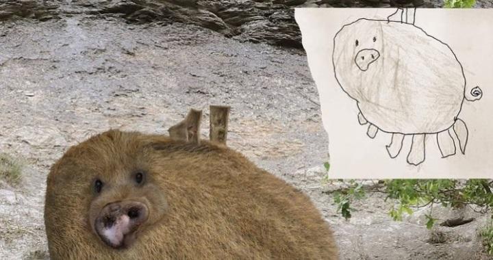 Egy apa életre kelti gyermekei rajzait - az eredmény elképesztő