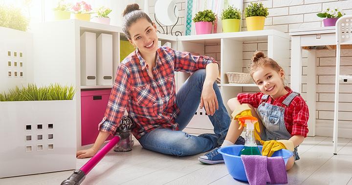 Jobban viselkedik a gyerek a takarítástól