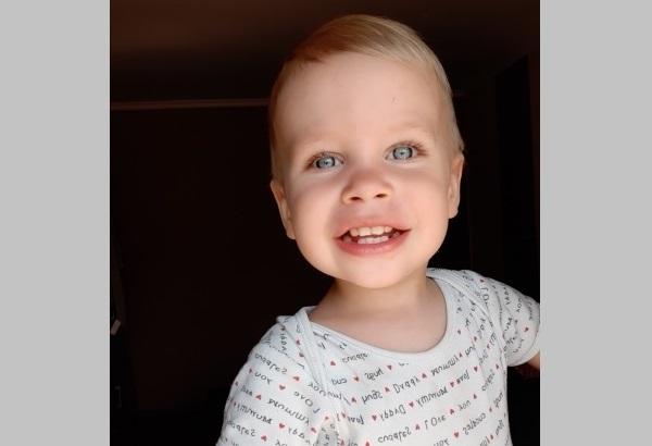 Szabika 2 éves
