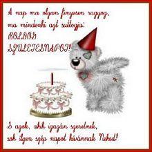 nagyon boldog születésnapot Nagyon boldog szülinapot Anyucikám:!!!):) / Milánbaba naplója / Blogok nagyon boldog születésnapot